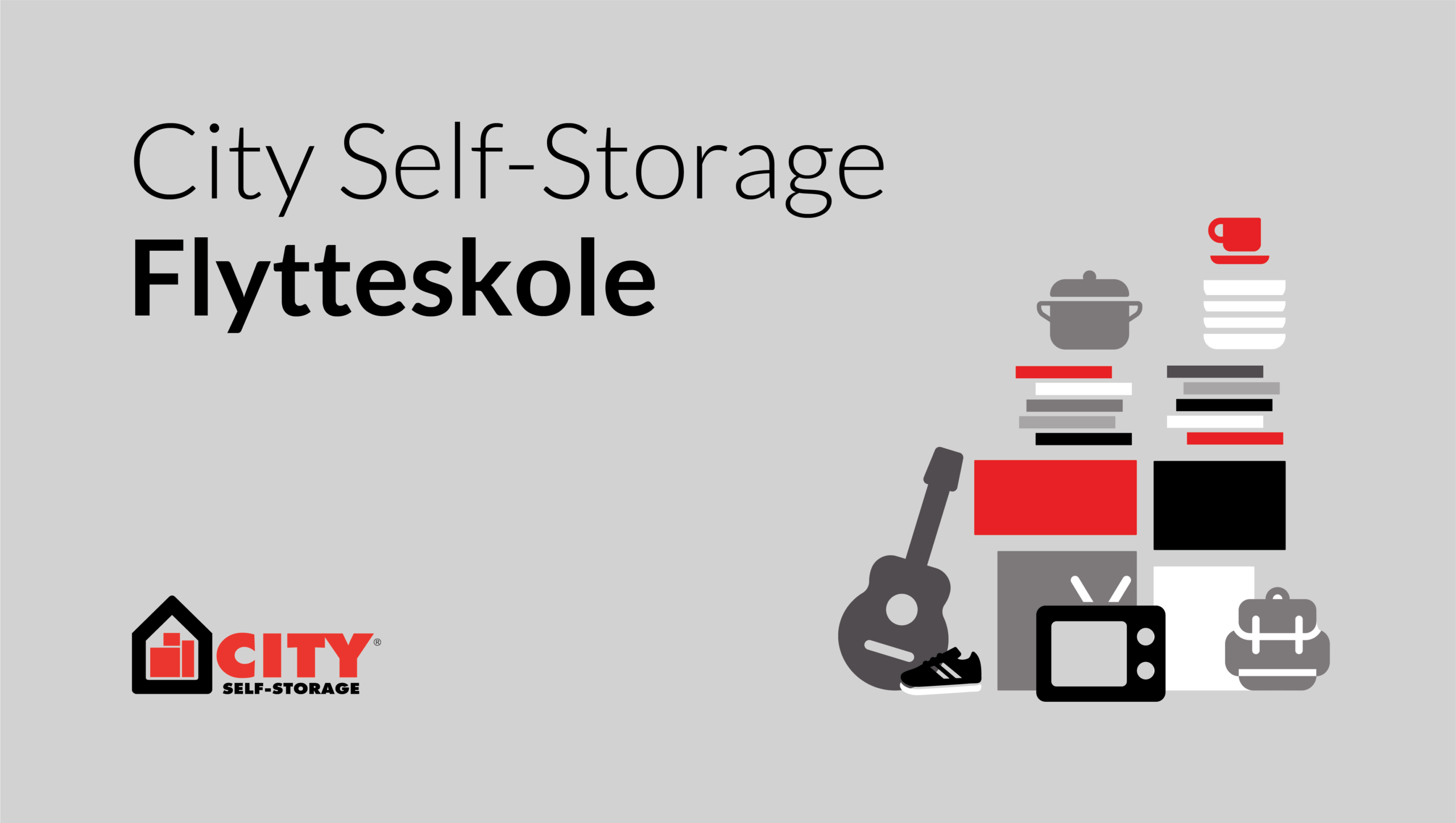City Self-Storage flytteskole